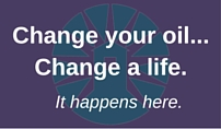 Change Your Oil, Change a Life