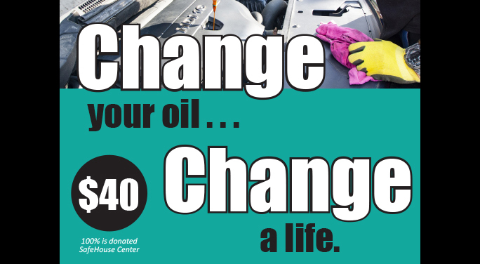 Change Your Oil - Change a Life