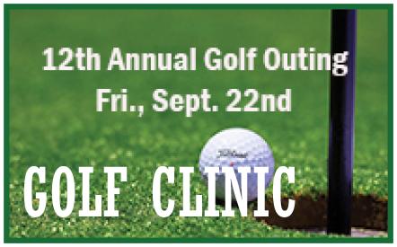 Golf Clinic Fundraiser