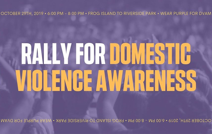 Rally for Domestic Violence Awareness