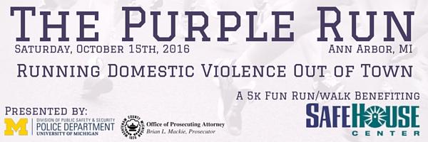 The Purple Run Email Header